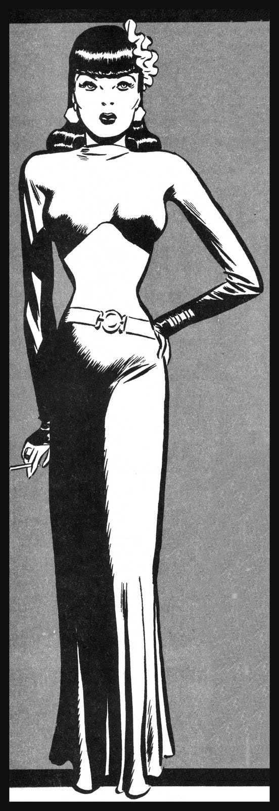 Miss Lace of 'Male Call' by Milton Caniff