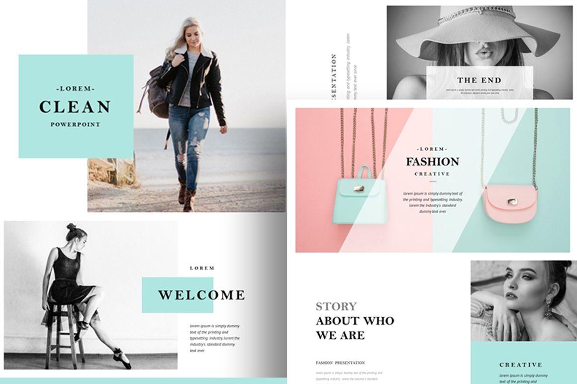 Fashion PowerPoint Presentation Template Free Free