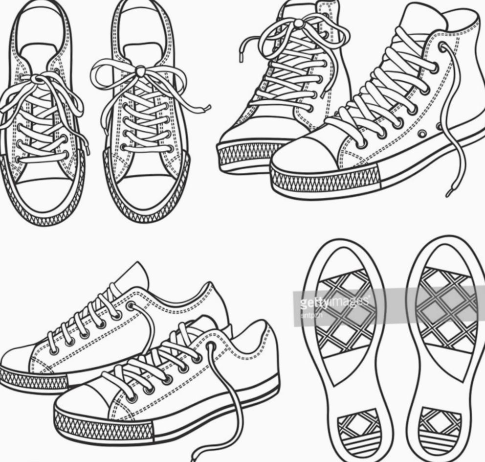 12 Shoes Sneakers Drawing Reference Sneakers Drawing Shoes Drawing Drawing Reference