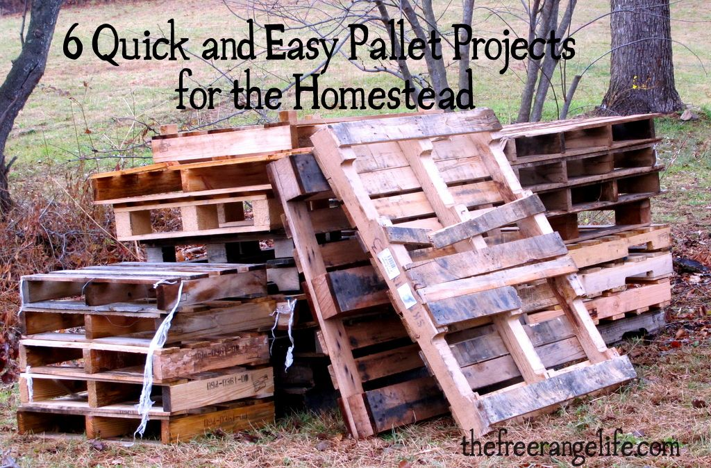 Simple and Easy Projects to Recycle Old Wood Pallets ...  Easy Wood Projects From Pallets