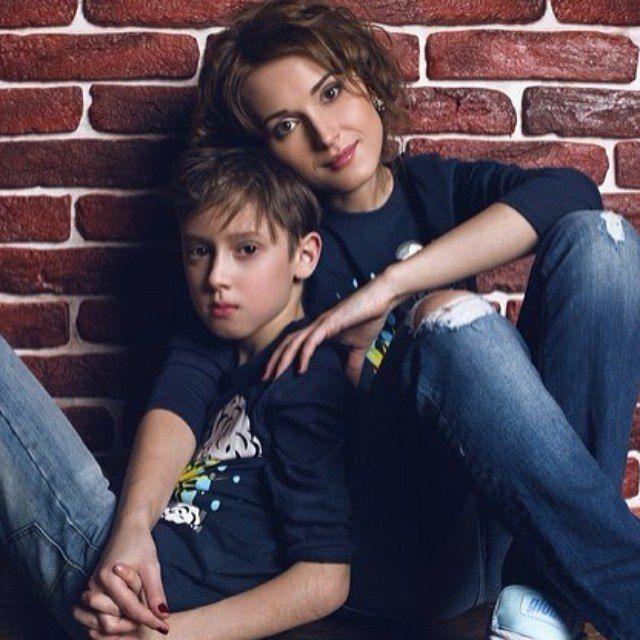 Мама пияни и сын