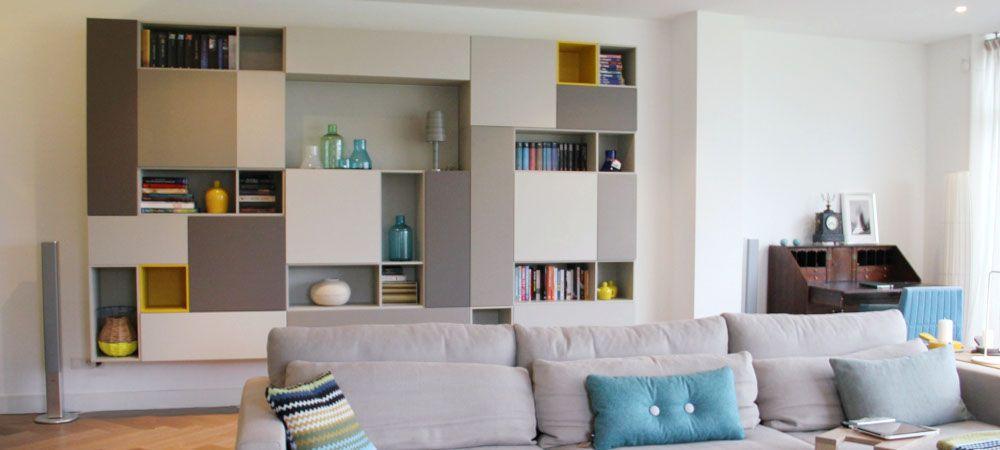 mooie inbouwkast - woonkamer | Pinterest - Kasten, Voor het huis en ...