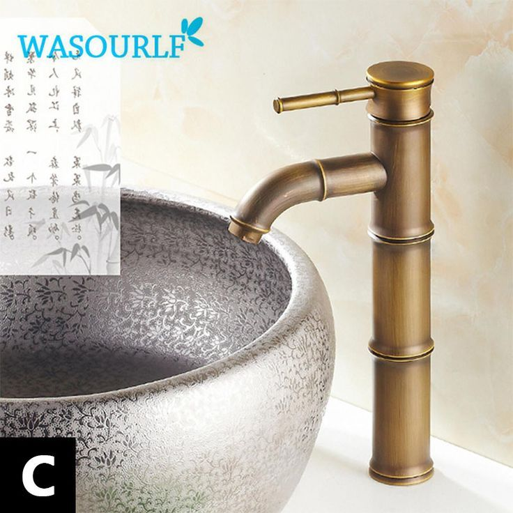 Freies Verschiffen Waschbecken Wasserhahn Vintage Kuche Gold