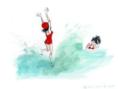 made by: ilaria Urbinati , watercolor illustration