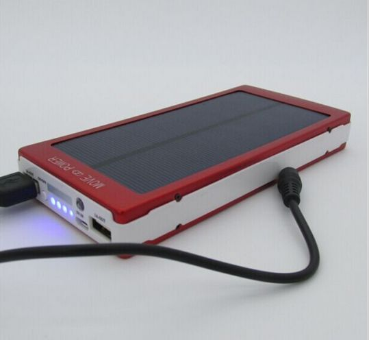 Large capacity Model 800000mah Solar power bank Portable Mobile Phone