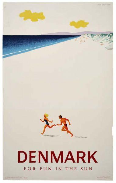 Vintage Danish Ballet Poster A3//A4 Print