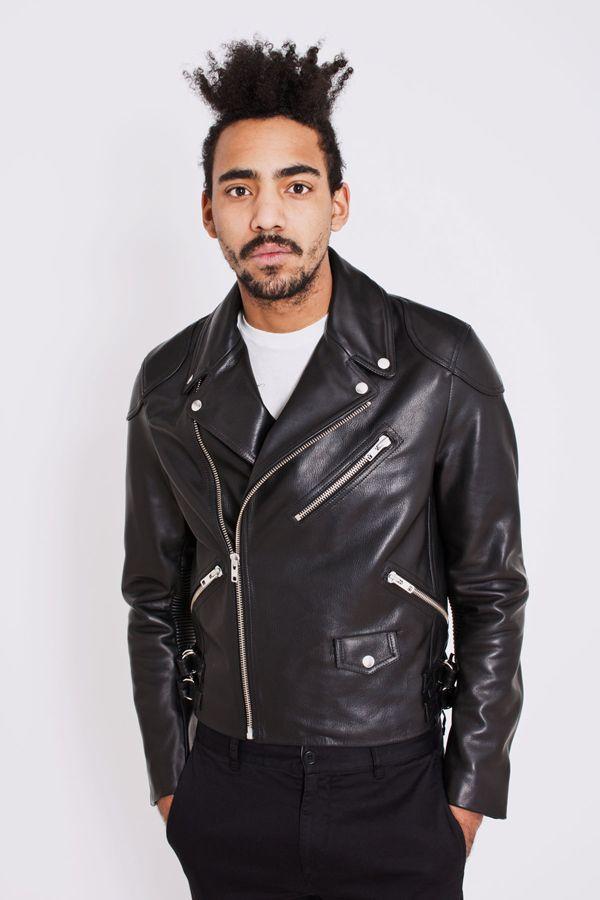 Men's leather jacket small – Modern fashion jacket photo blog
