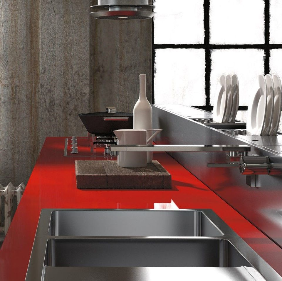 Valcucine \'\' Artematica Vitrum | Sandro Chia\'\' tasarımcı Gabriele ...