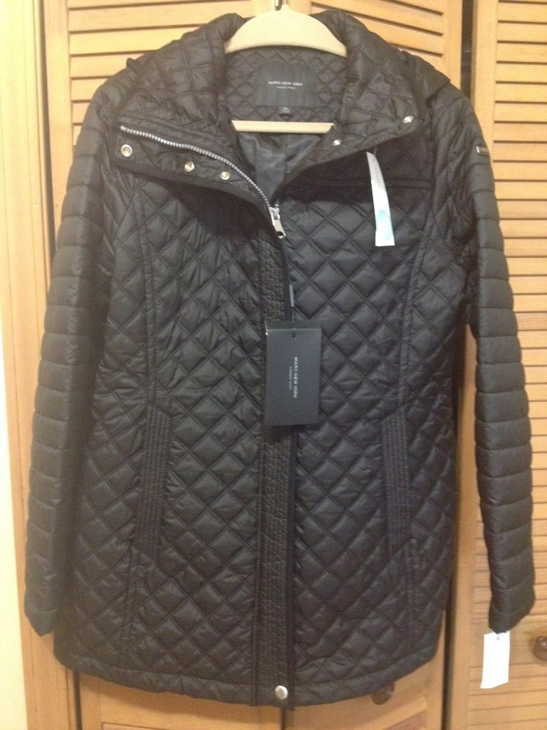 Stitch Fix 9 Andrew Marc Savana Quilted Coat https