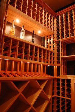 Custom Wine Cellar traditional-wine-cellar