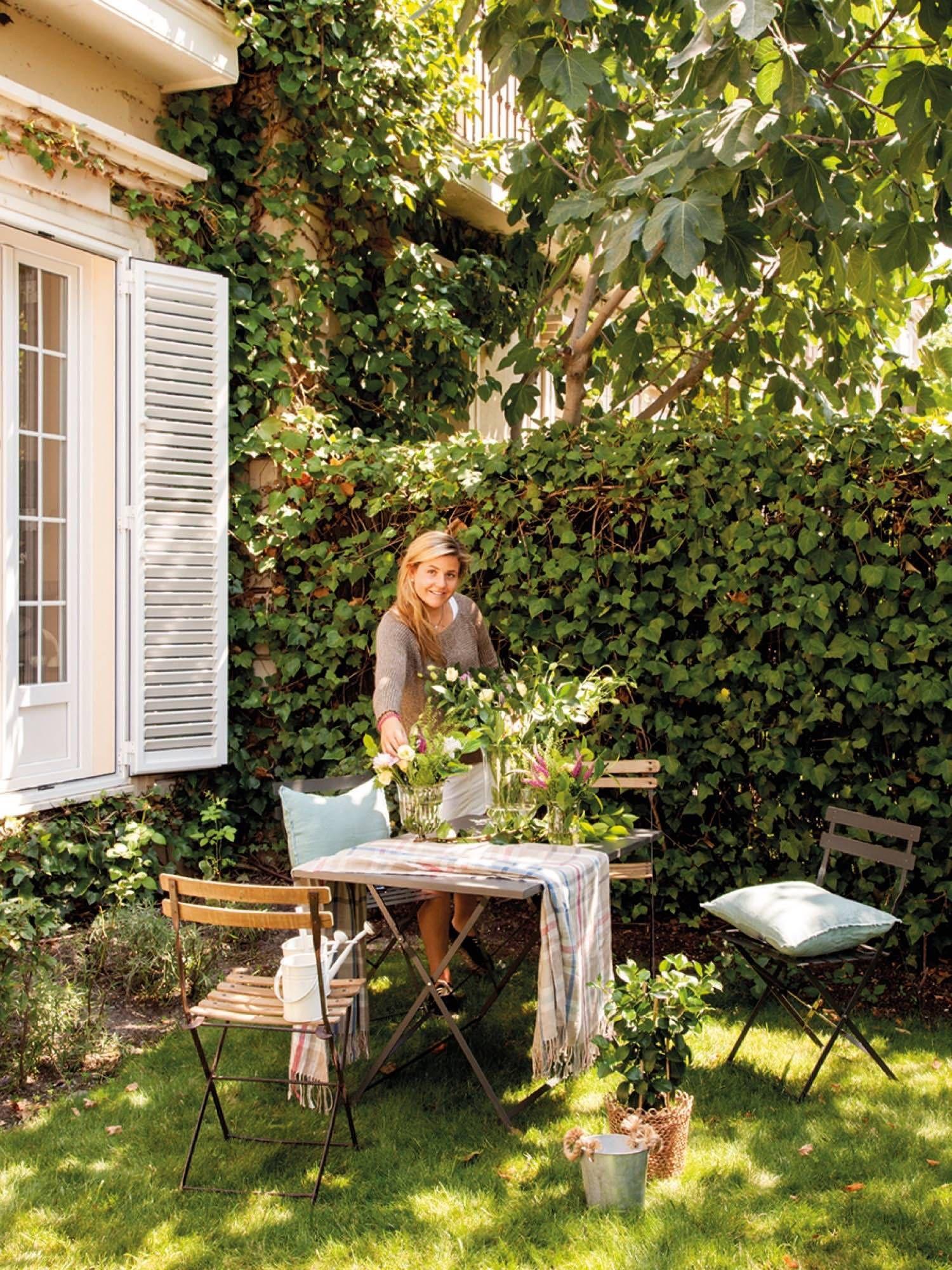 2 Un Mini Piso Con Jardin Backyard Play Spaces Garden Inspiration Outdoor Gardens Backyard mini apartments for seniors