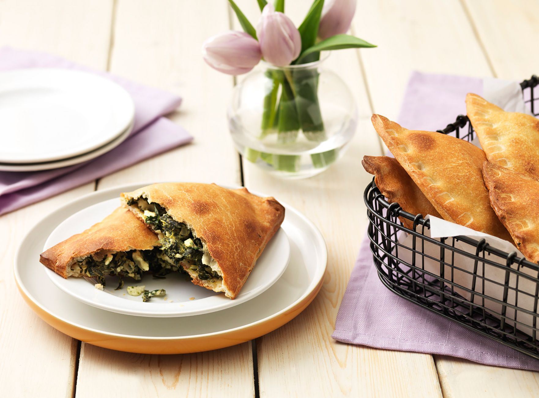 This Greek spinach pie is a great dish for your Orthodox Easter meal and other celebrations of spring!
