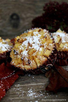 Photo of Saftige Bratapfelmuffins mit Mandeln und Zimt • Schokokuss und Zuckerperle