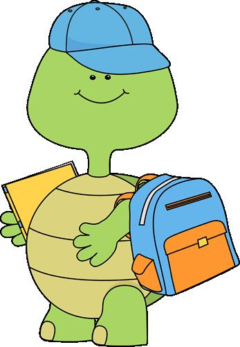 boy turtle going to school tortuga pinterest turtle school rh pinterest com au Elementary School Clip Art Elephant Clip Art School