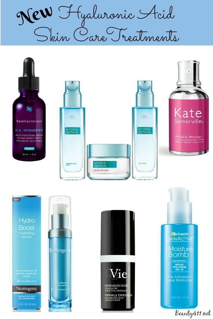 Skincare heros new hyaluronic acid treatments in skin care