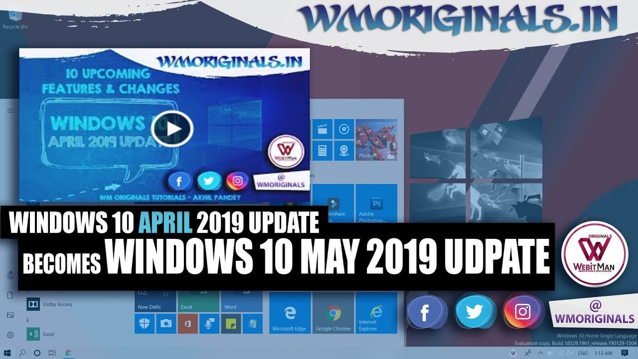 Windows 10 May 2019 Update | 10 Best Features & Changes