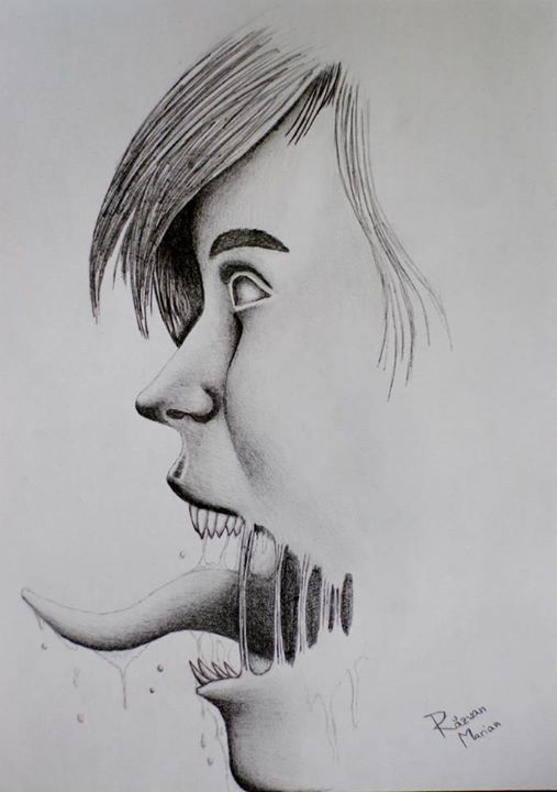 Pencil drawing normal xerox paper