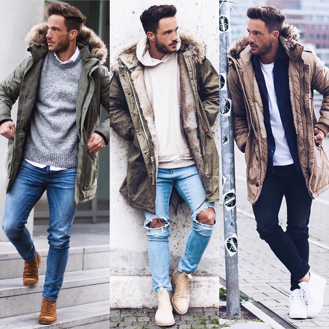 Daniel On Instagram What S Your Favourite Parka For This Winter 1 2 3 Wish You All A Ni Moda Ropa Hombre Ropa De Moda Hombre Estilos De Moda Masculina