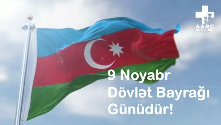  9 noyabr Azərbaycan Respublikasının Dövlət Bayrağı günüdür. Bu münasibətilə hər kəsi...