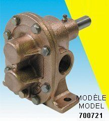 Bur-Cam Pumps 700721 .75 in. General Utility by Bur-Cam Pumps. $183.60. Brass Gear Pump With Stainless Steel Shaft And Gears. Pumps Water, Brine, Calcium, Dyes, Syrups, Juice,Beverages, Gas, Fuel, Oil, Poultry Watering.Maximum Pump Revolution Speed: 1800 Rpm.Motor Rpm x Motor Pulley Diam.