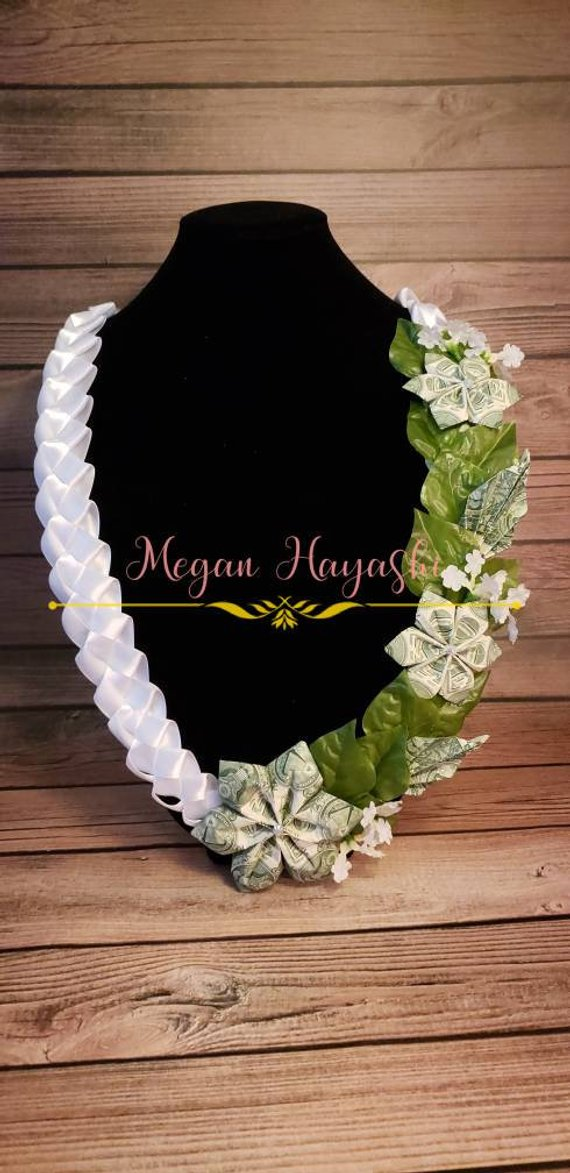 Money Lei, wedding lei, custom lei, personalized lei, wedding gift