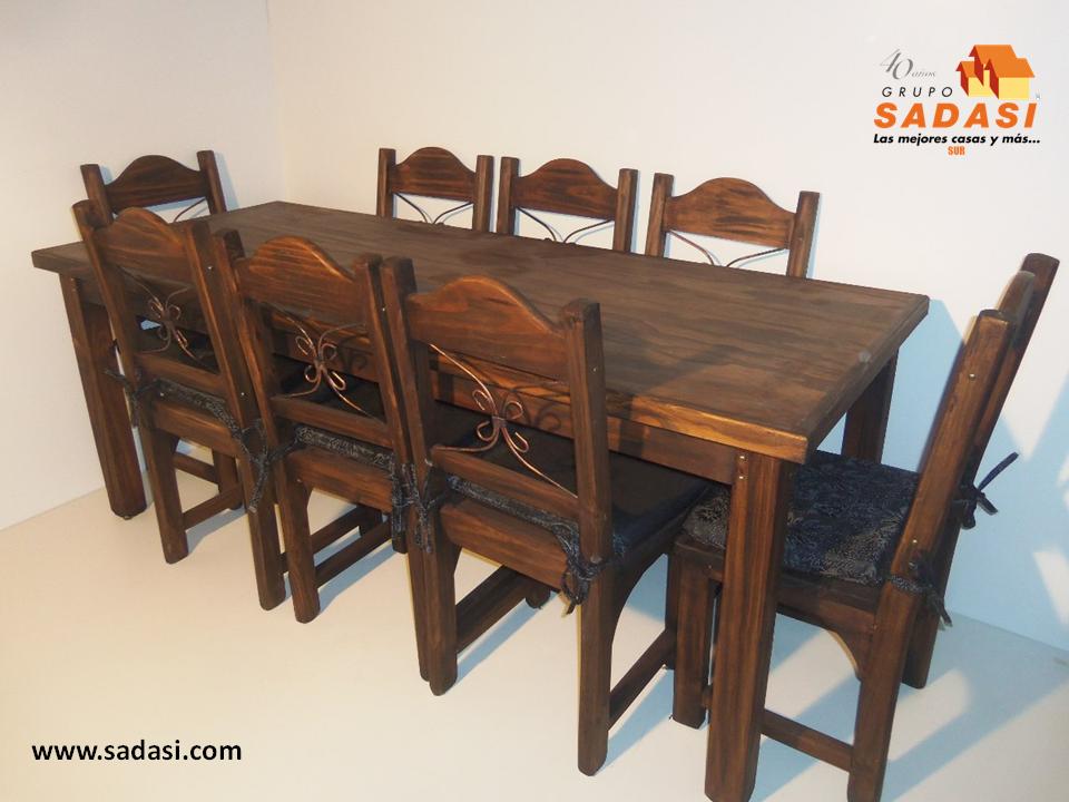 Gruposadasi las mejores casas de m xico las sillas de madera para el comedor con diferentes - Las mejores mesas de comedor ...