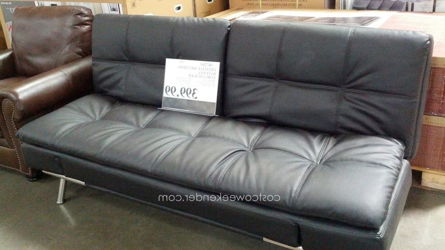 Leather Futon Sofa Bed Costco