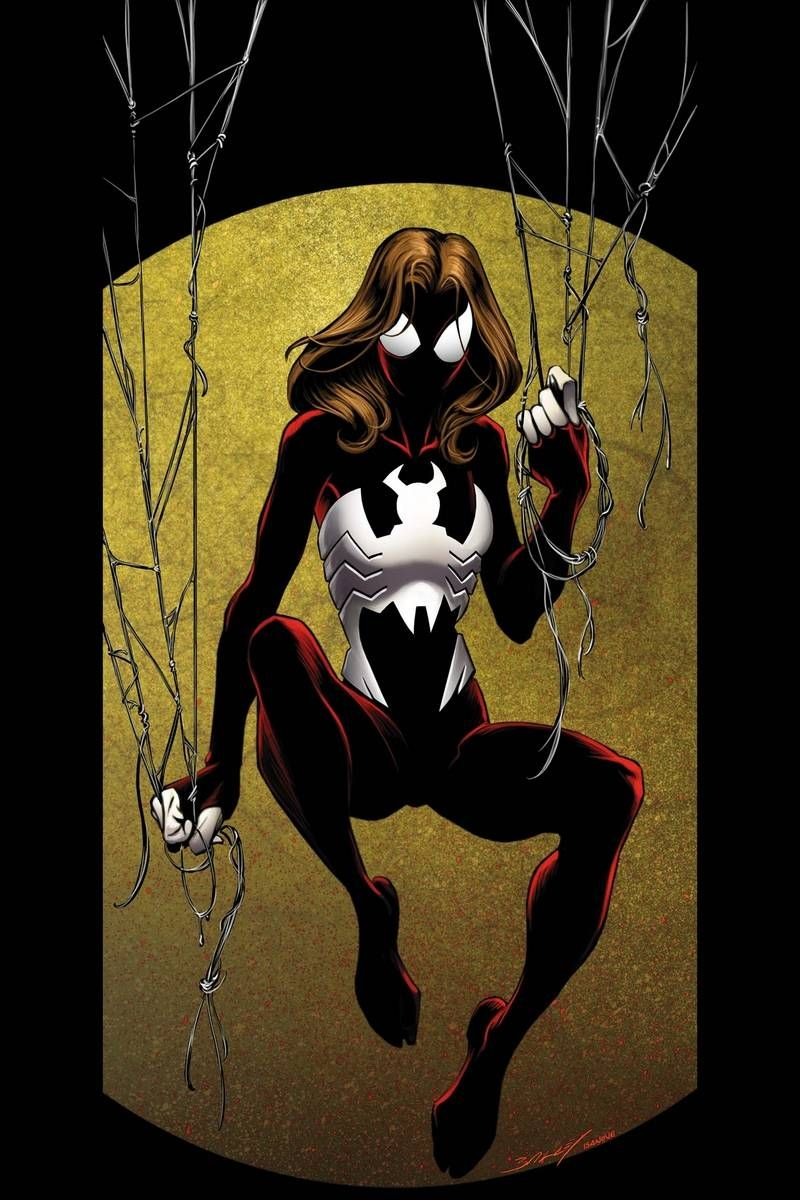 Spider Woman Fan Art Ultimate Spider Man Vol 1 98