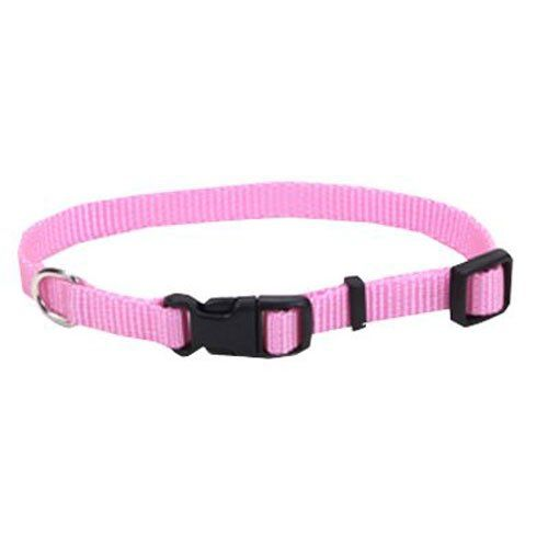 Coastal Pet Alliance Products 06301 A PKB12 Adjustable Collar, 3/8-Inch, Pink >>> Details can be found by clicking on the image.