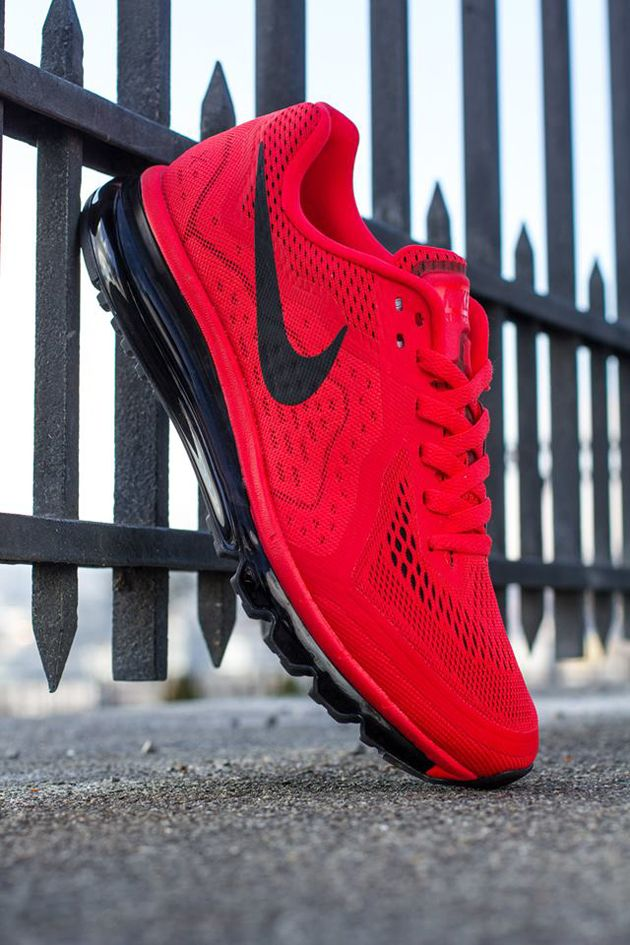 Nike Air Max 2014 Light Crimson Black Atomic Red