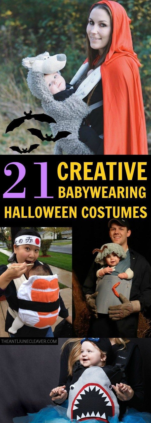 21 Babywearing Halloween Costumes - The Anti-June Cleaver