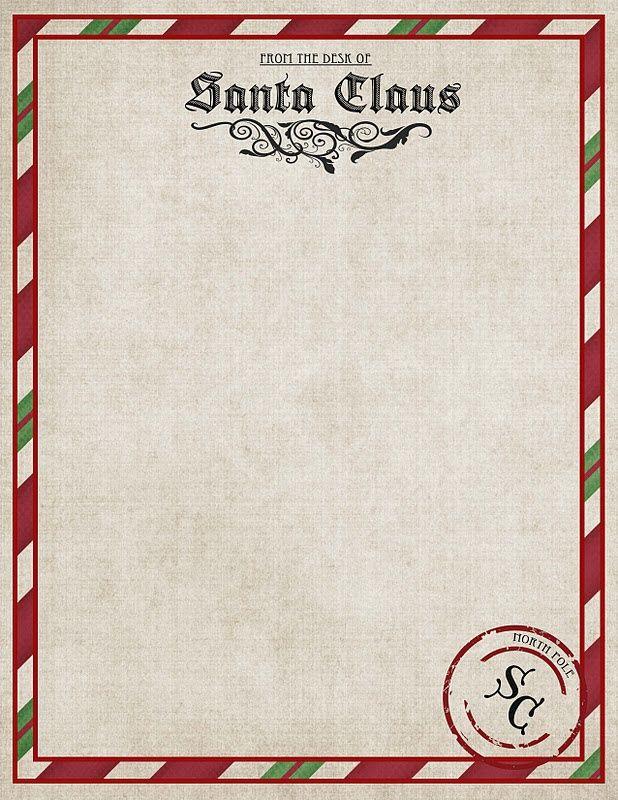 Christmas Freebies Letters From Santa Printables  Big Moon