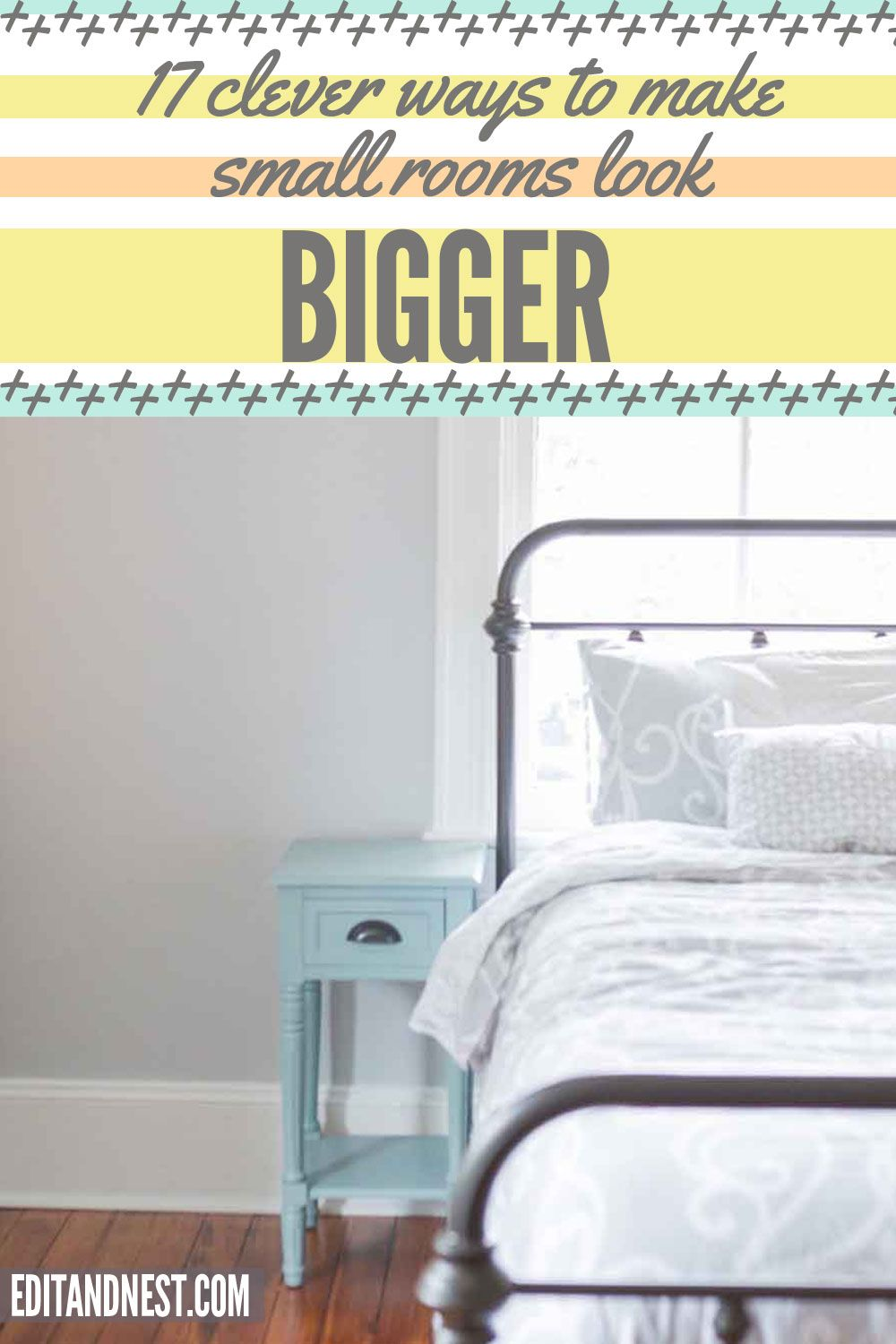 Knowing the secrets of how to make a small space look