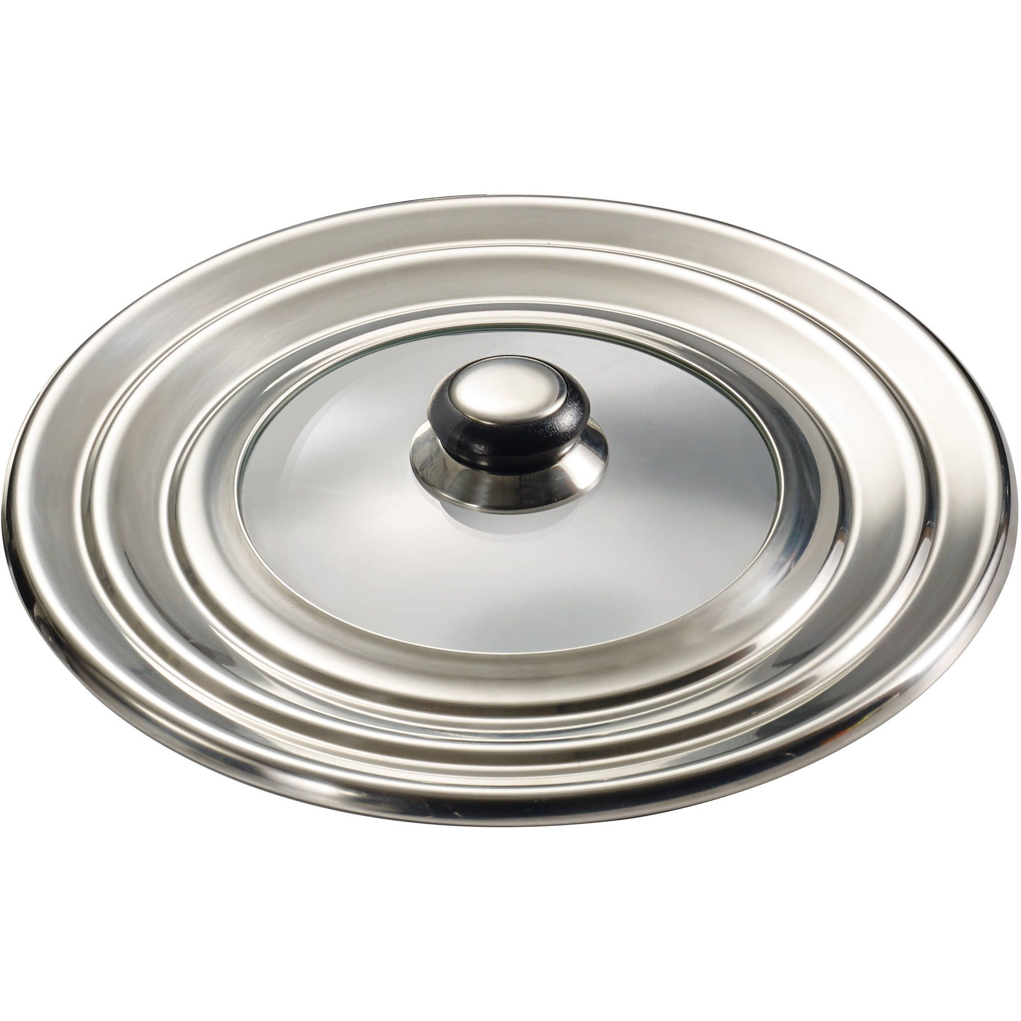 Universal Lid Glass/Stainless Steel Primaware