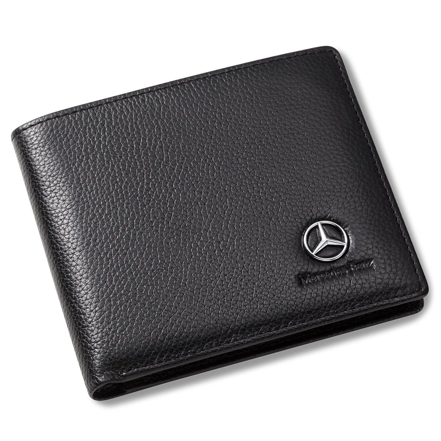 s dp leather clothing wallet amg black benz slim mercedes men store credit with genuine slots amazon at card
