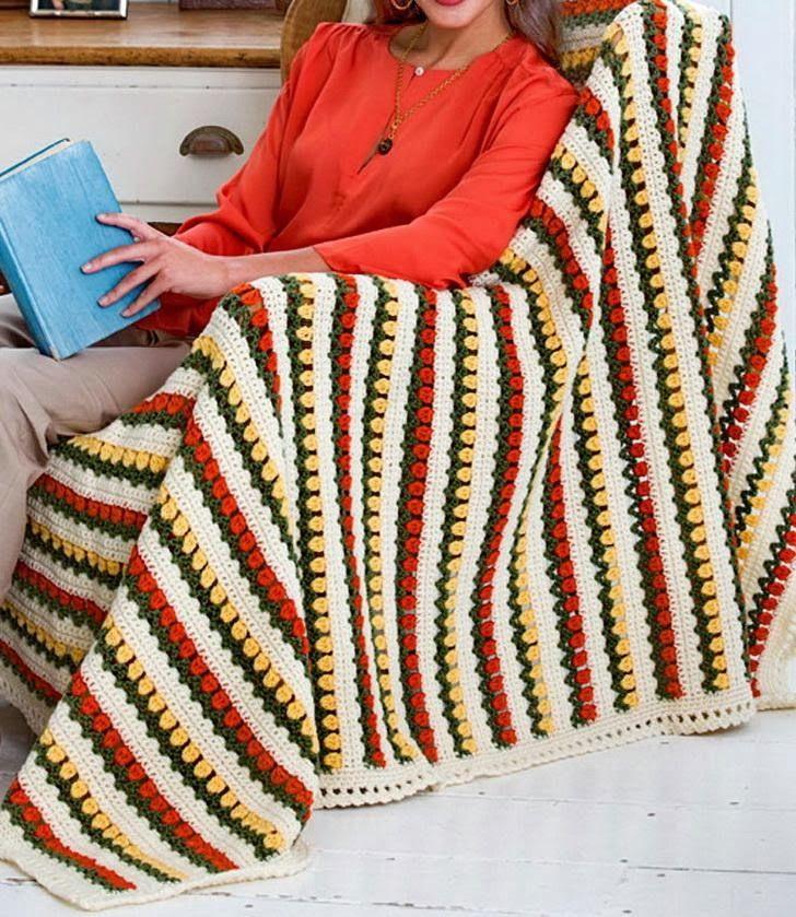 Crochet Patterns: Crochet Throw Free Pattern - Beautiful Simple And ...