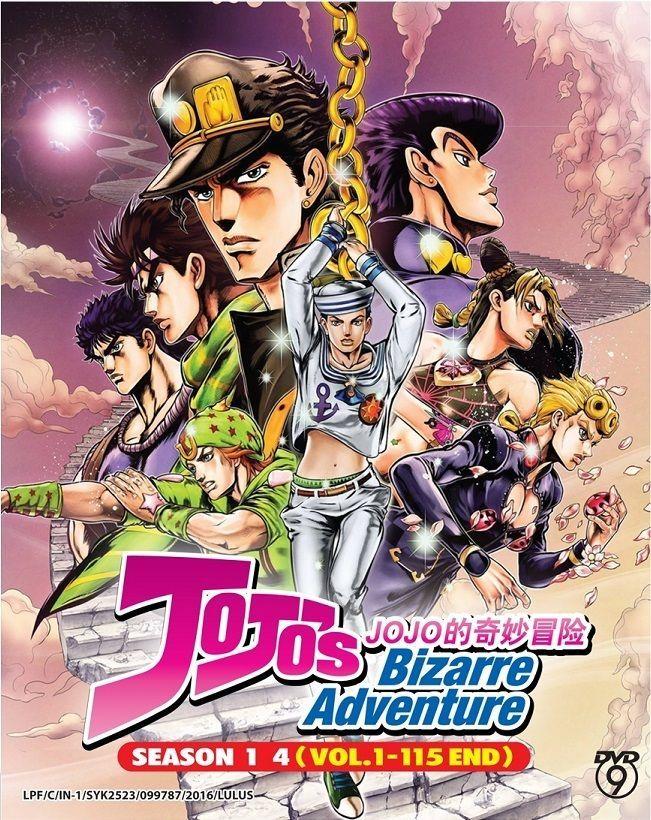 DVD Anime JOJO's Bizarre Adventure Season 14 Complete