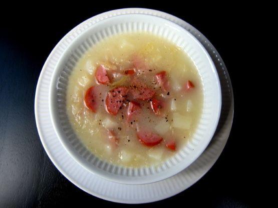 Czech sauerkraut soup receta chucrut sopas y recetas de sopa czech sauerkraut soup forumfinder Choice Image