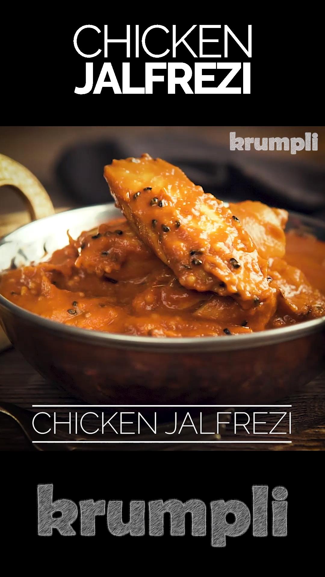 Pakistani Chicken Jalfrezi Curry Video Recipe Video Curry Chicken Recipes Curry Recipes Chicken Jalfrezi Recipe