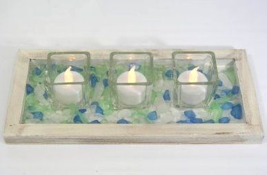 sea glass love decorating craft ideas condos glass and glass tray