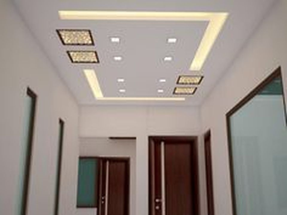 False Ceilings Design With Cove Lighting For Living Room 2