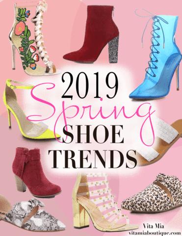 Spring shoe trend