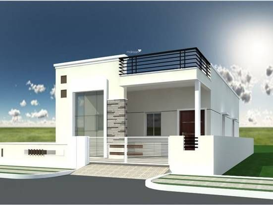 2f02bed6235d312cae0a4c914b8840af - View Front Design Of House In Small Budget Single Floor  Background