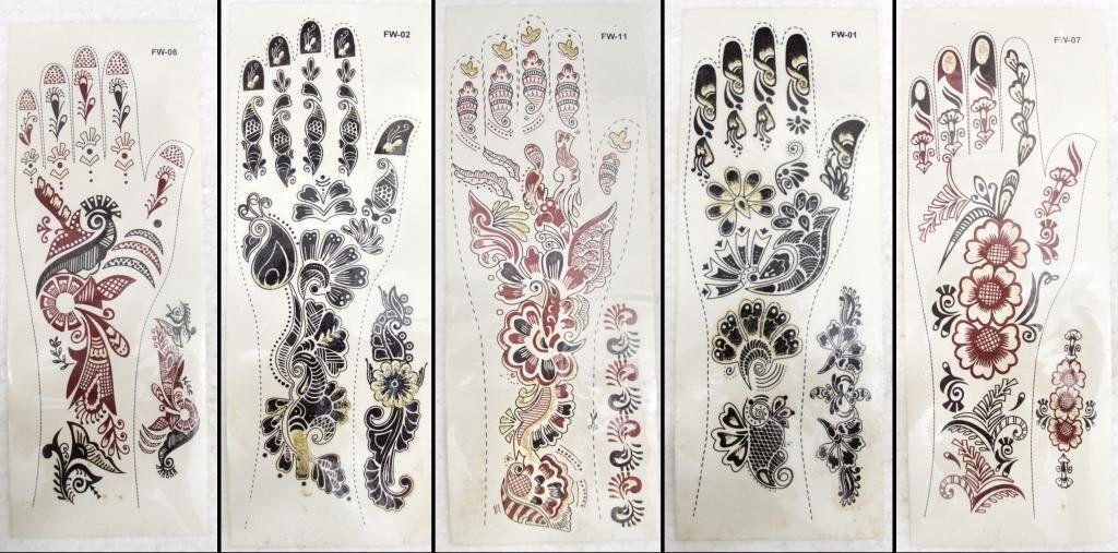 glitter henna - Google Search