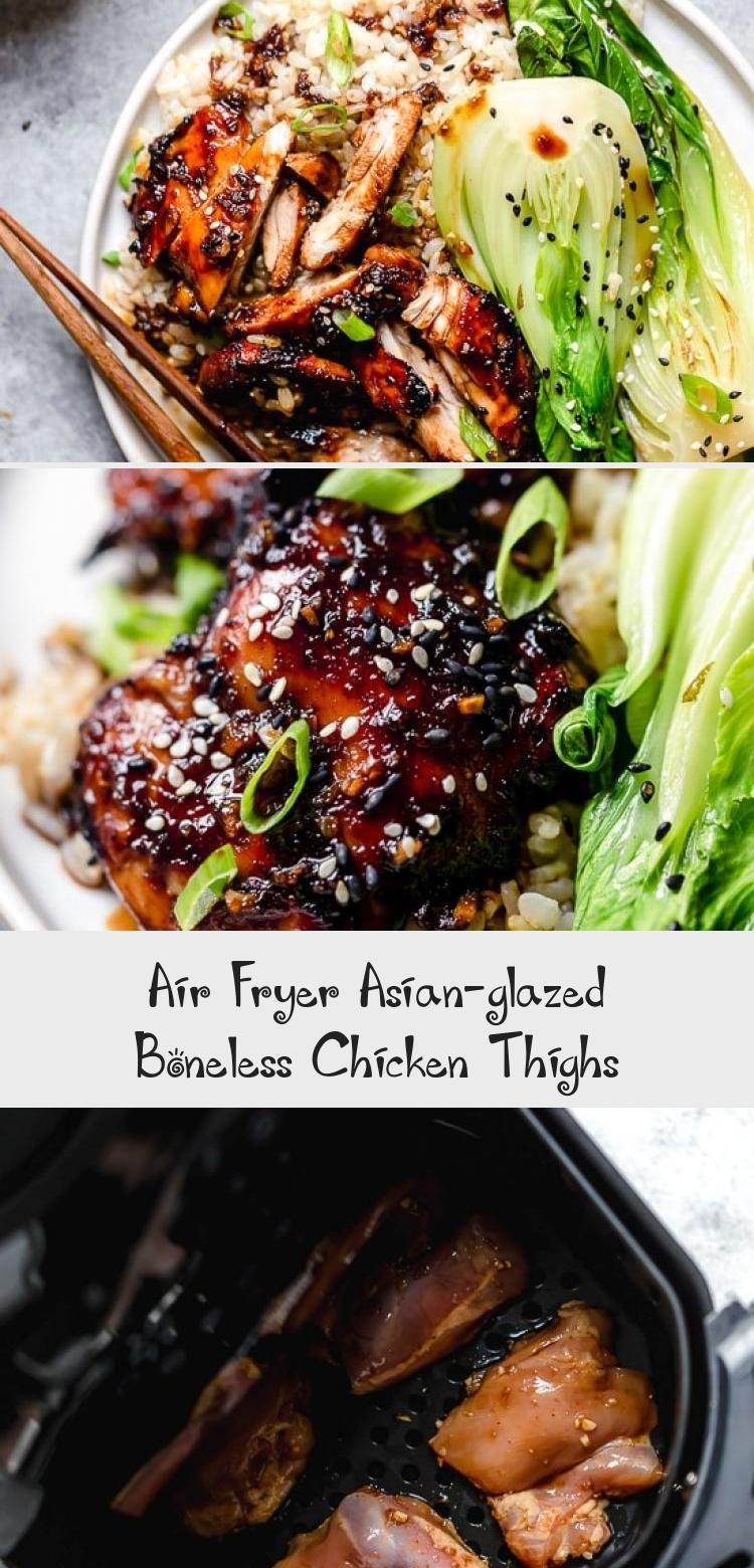 Air Fryer AsianGlazed Boneless Chicken Thighs