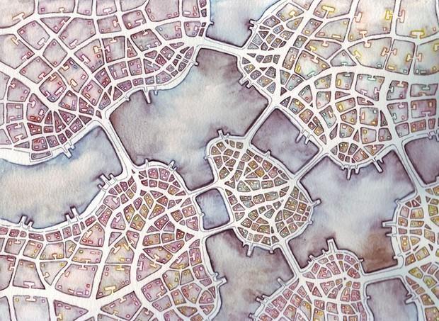 How fractals bring imaginary cities to life http://trib.al/mFgWinA