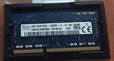 4GB DDR3L-1600 PC3L-12800 1600Mhz SK HYNIX HMT451S6BFR8A-PB laptop MEMORY RAM - http://electronics.goshoppins.com/computer-components/4gb-ddr3l-1600-pc3l-12800-1600mhz-sk-hynix-hmt451s6bfr8a-pb-laptop-memory-ram/