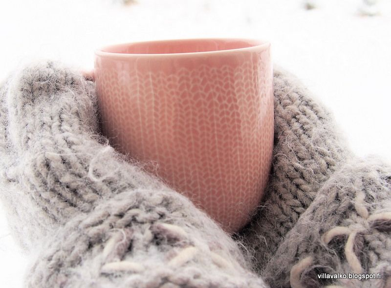 mug mittens winter talvi muki lapaset vinter lifestyle life