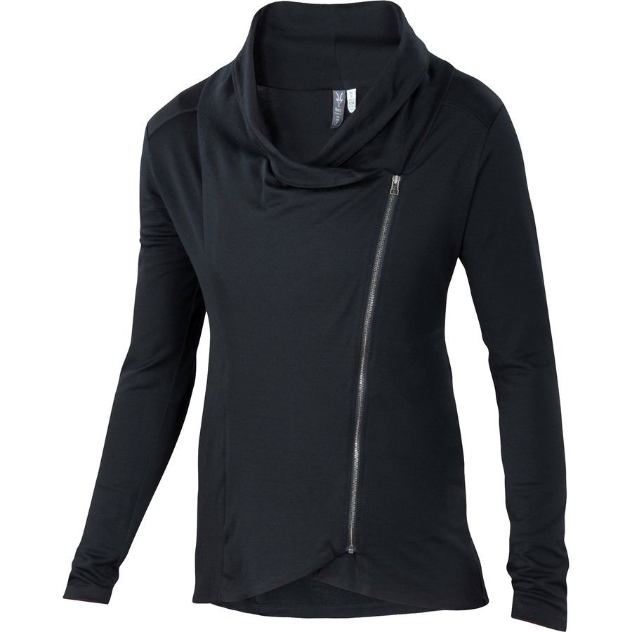 Ibex - Freya Full-Zip Cardigan - Women's - Black | .pnw ...