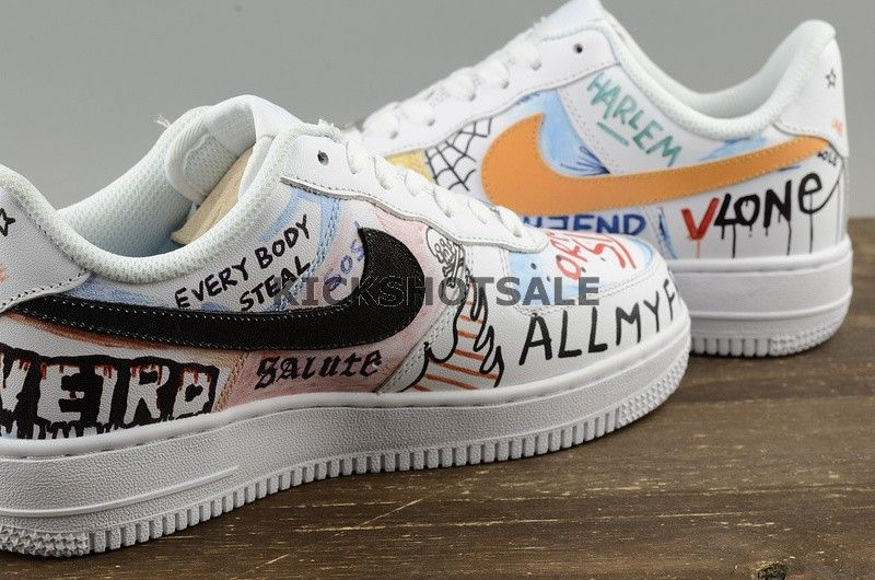 Vlone x Nike Air Force One Low Pauly For Sale | Hoop Jordans